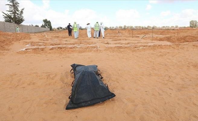 Libya'da toplu mezar bulundu