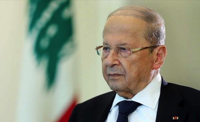 Lübnan Cumhurbaşkanı Mişel Avn İsrail'le sorunları aşacaklarına inanıyor
