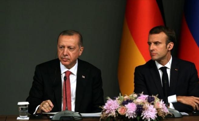 Macron'dan Türkiye hakkında şaşırtan açıklama!