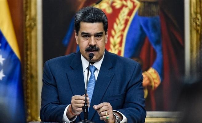 Venezuela Devlet Başkanı Maduro halkına çağrı yaptı