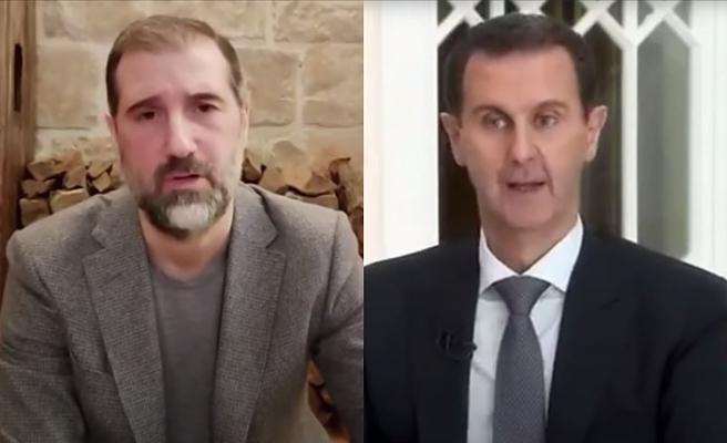 Esed'in kuzeni Rami Mahluf Esed'e ve rejime meydan okudu