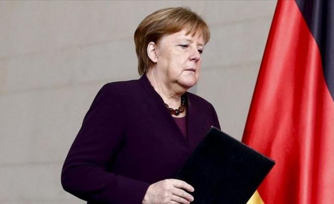 Merkel'den Türkiye'ye sıcak mesaj