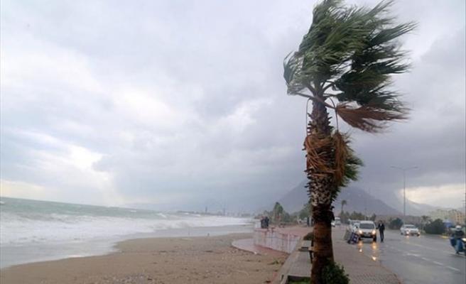 Meteoroloji uyardı! İki bölgede fırtına bekleniyor