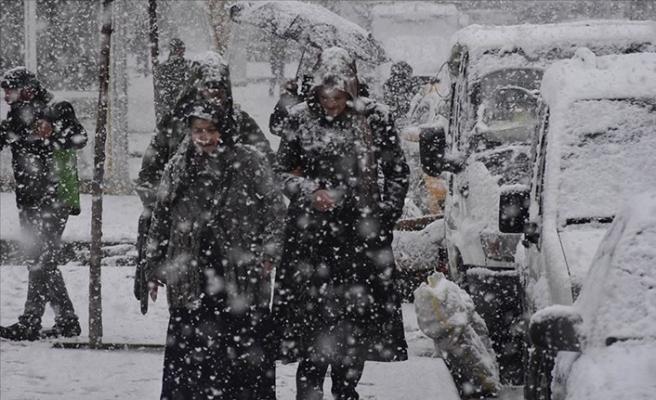 Meteoroloji'den Doğu Anadolu'da 4 il için kar uyarısı