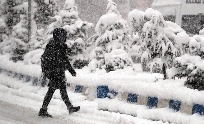 Meteorolojiden 'kuvvetli sağanak ve kar yağışı' uyarısı