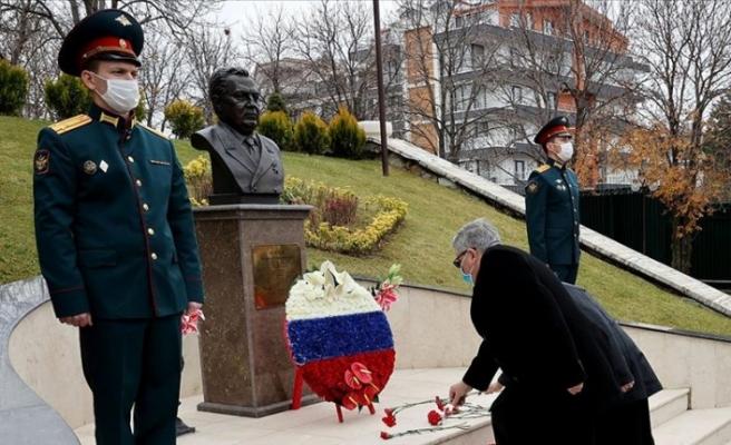 Rus Büyükelçi Karlov, anıldı