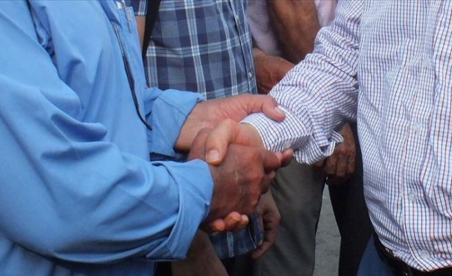 Siirt'te husumetli aileler barıştırıldı