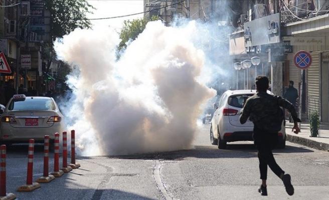 Irak'ın Süleymaniye kentindeki gösterilerde 15 kişi yaralandı