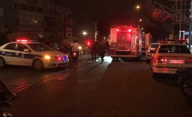 Tahran'da patlama! 6 kişi öldü