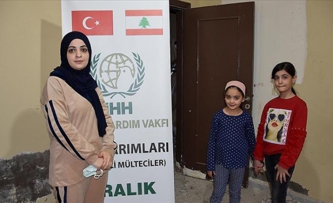 Türk STK'ları Lübnan'daki Filistinli mültecilere yardımda