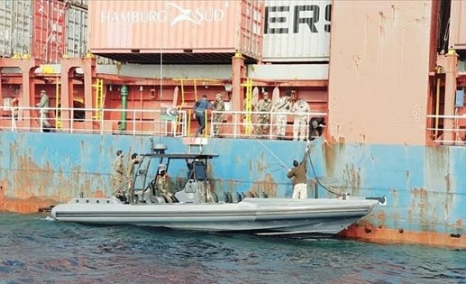 Türk gemisi serbest bırakıldı!