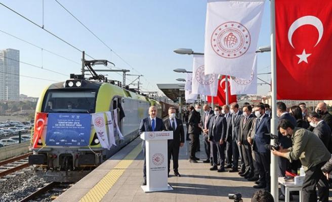 Türkiye'den Çin'e ilk tren kalktı