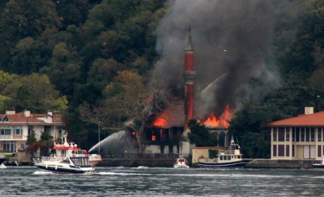 Vaniköy Camii yangınında kusurlu vakıf yöntemi