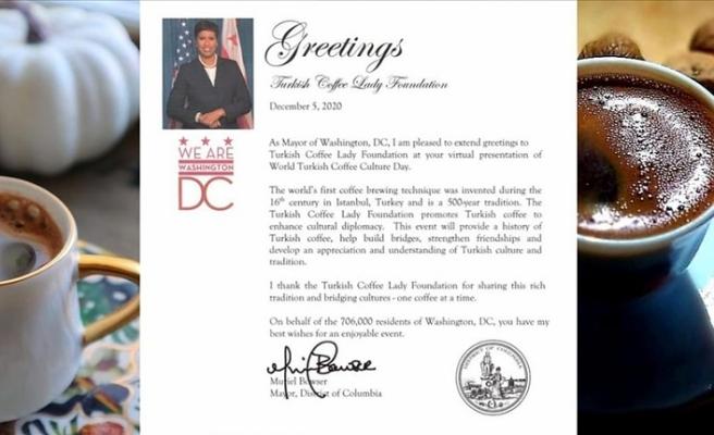 Washington Belediye Başkanı Browser açıkladı! 5 Aralık Dünya Türk Kahvesi Günü!