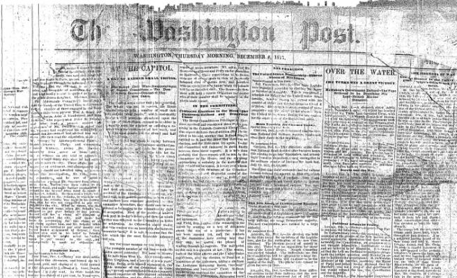 Washington Post adına tarihi bir gün: 6 Aralık