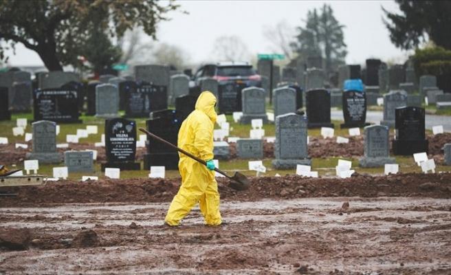 ABD'de koronavirüs salgınında son 24 saatte 4 bin 401 kişi öldü