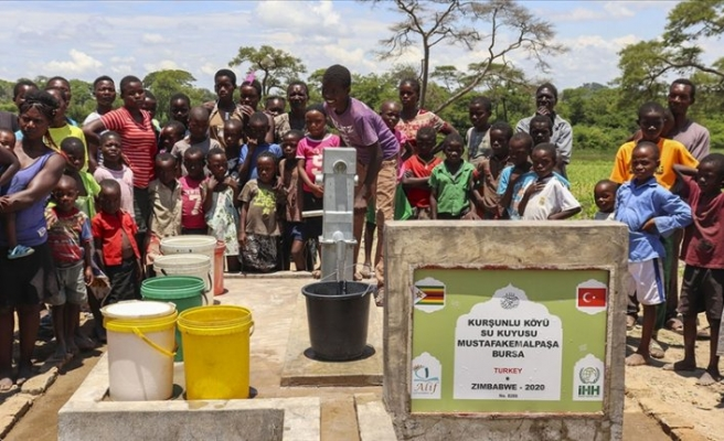 İHH, geçen yıl 22 ülkede 1322 su kuyusu açtı