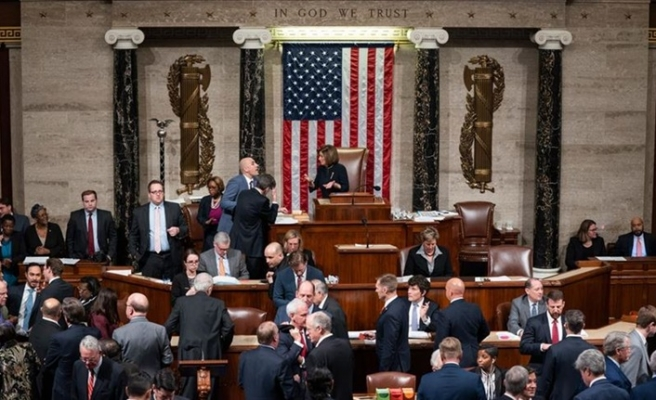 ABD Temsilciler Meclisi Trump'ı 'görevden alma' çağrısı tasarısını onayladı