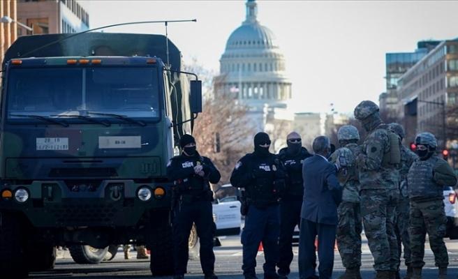 Trump'ın azil yargılamasında Washington'da 5 bin Ulusal Muhafız kalacak