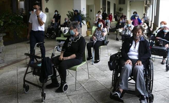 ABD'de koronavirüs nedeniyle son 24 saatte bin 387 kişi daha öldü