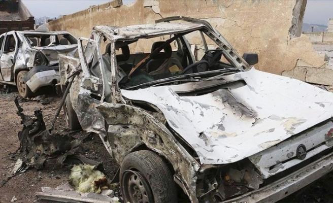 Afrin'de bombalı saldırı: 3 yaralı