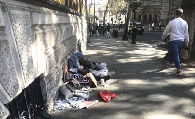 Birleşik Krallık'ta ölen evsizlerin oranı yüzde 37 arttı