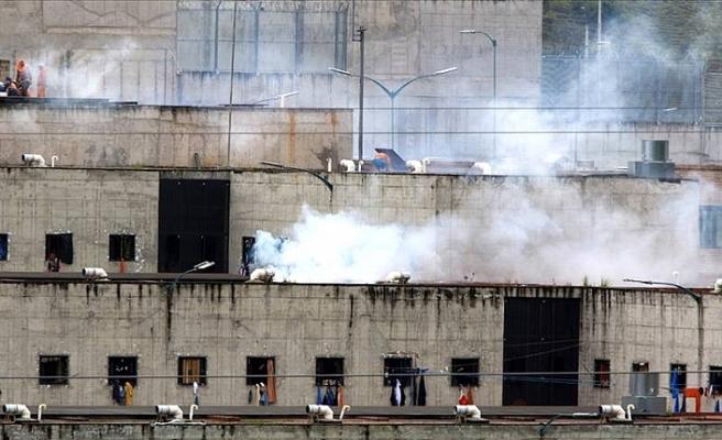 Ekvador'da cezaevinde isyan: Polis müdahale etti, en az 50 mahkum öldü