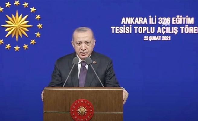 Cumhurbaşkanı Erdoğan'dan 20 bin öğretmene atama müjdesi