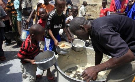 Somali için iftar vakti