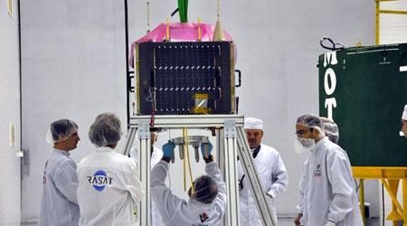 İlk yerli uydu RASAT uzayda