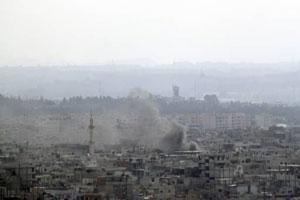 Humus'ta 15 kişi öldürüldü