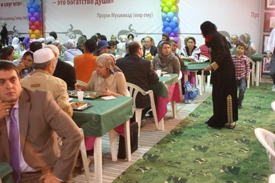 Bir Ramazan çadırı da Moskova'da
