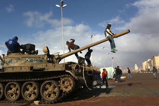 Libya isyanının liderleri