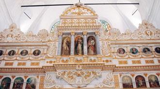 Camiyi kiliseye çevirdiler