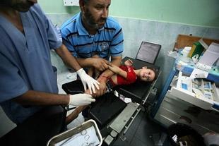Gazze'ye yine füze yağdı: 5 ölü, 25 yaralı