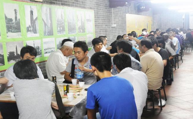 Çin'in en eski camisinde iftar-FOTO