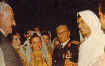 Kaddafi'nin düğününe Tito da katılmış