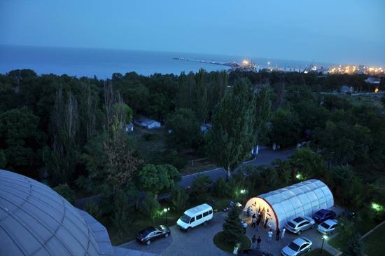 Azak Denizi kıyısında iftar çadırı-FOTO