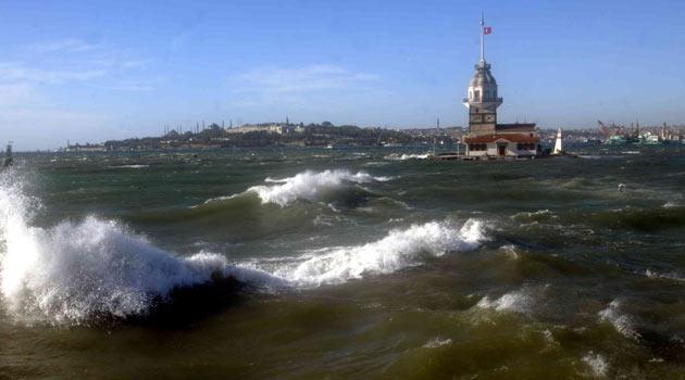 İstanbul için kuvvetli rüzgar uyarısı-HARİTALI