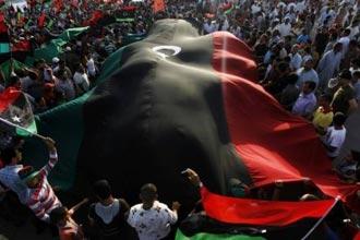 Misratalılar konseyi protesto etti