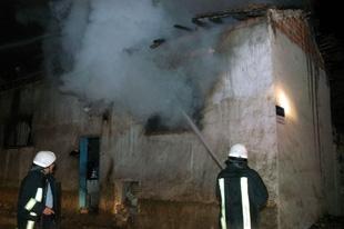 Kütahya'da yangın: Bir ölü