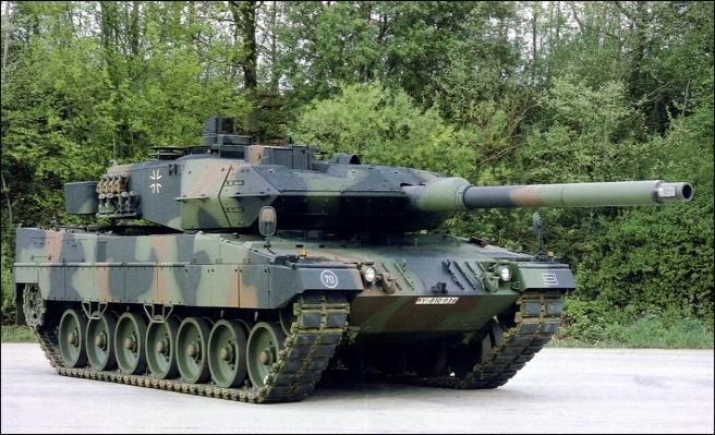 Endonezya'ya tank satışına Almanlardan onay