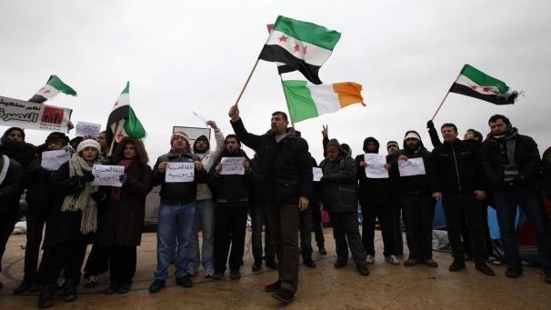 Suriyeli muhalifler Kilis'te açlık grevi başlattı