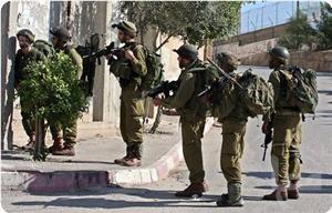 İsrail askerleri Filistinlilere müdahale etti