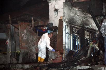 3 yaşındaki çocuk yangın kurbanı