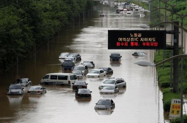 K.Kore'de sel felaketi