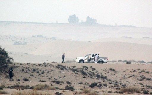 Sina'da biri İsrailli, 2 turist kaçırıldı