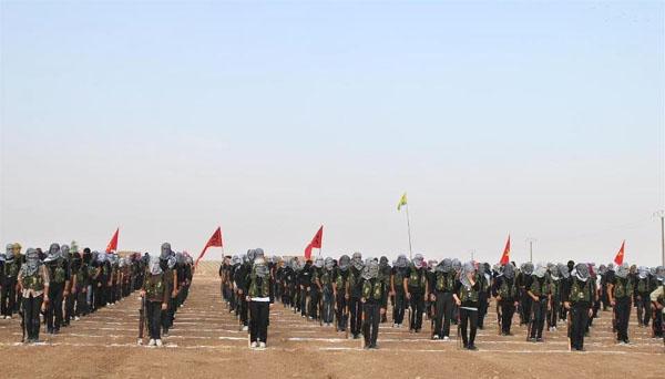 Suriye'de Fırat'ın batısındaki PYD varlığı