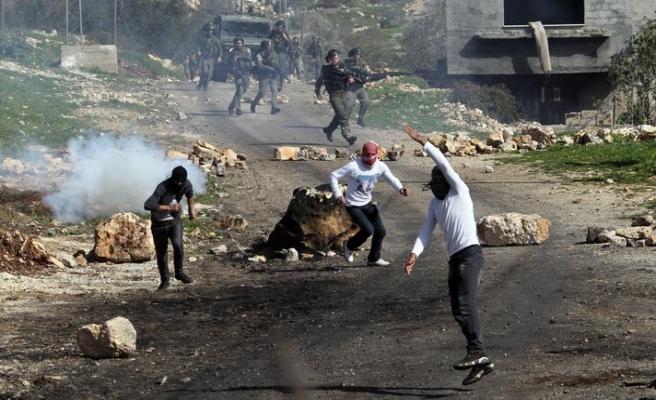 Batı Şeria'da yerleşim protestosu