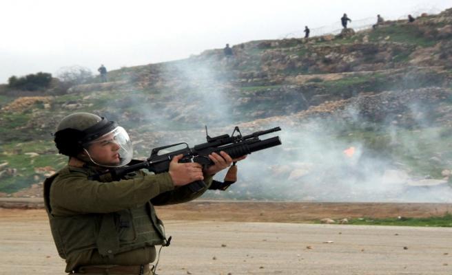 Filistin'de 'tutuklularla dayanışma' çatışması